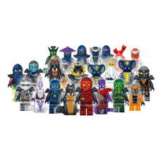 Ниндзяго набор 24 персонажа