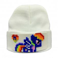 Шапка Pony Rainbow Dash (совместимая с Лего)