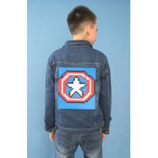 Куртка-конструктор Капитан Америка (Рост 98-158)