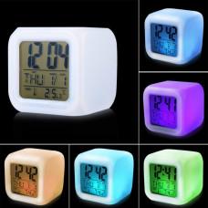 Часы-будильник с подсветкой Супергеройские